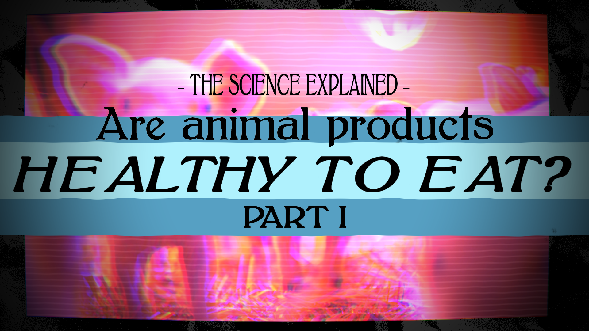 Are Animal Products Healthy? the SCIENCE EXPLAINED | Part 1